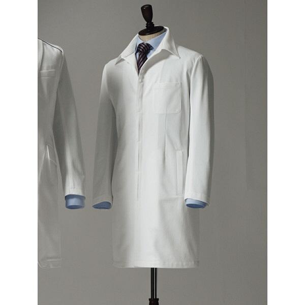 【メーカーカタログ】 サンペックスイスト ドクターコートXMー002 ホワイト L XM-002-WH 1枚  (取寄品)