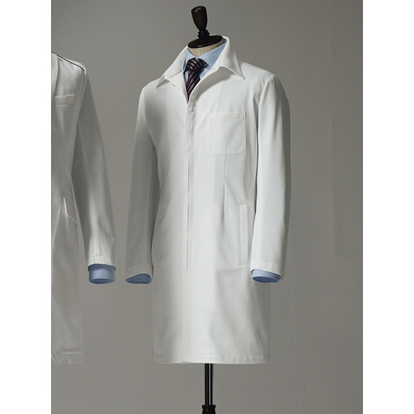 【メーカーカタログ】 サンペックスイスト ドクターコートXMー002 ホワイト LL XM-002-WH 1枚  (取寄品)