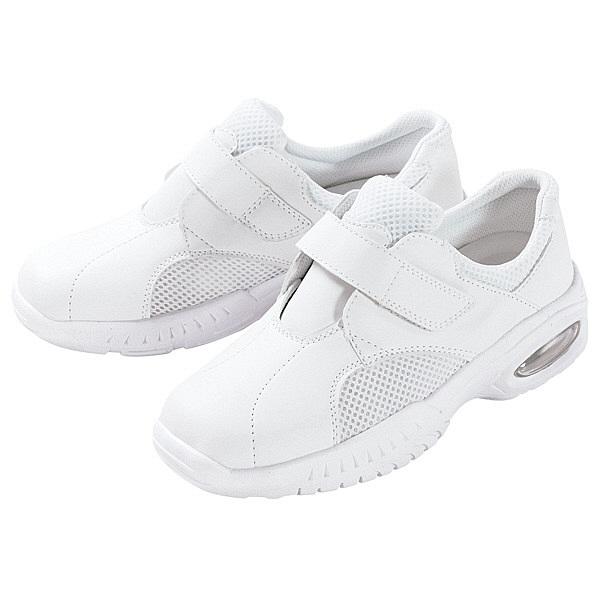 マリアンヌ製靴 ナースシューズ 男女兼用 バリュ!V1 23.0cm 1足 (取寄品)