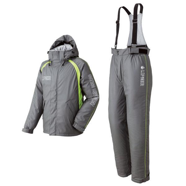 リプナー油に強い防水防寒サロペットスーツ