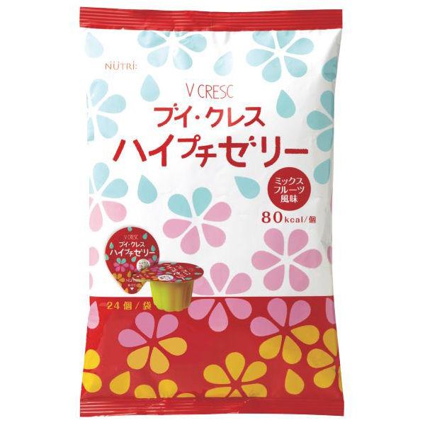 ブイ・クレス ハイプチゼリー ミックスフルーツ風味 1ケース(6袋) (取寄品)