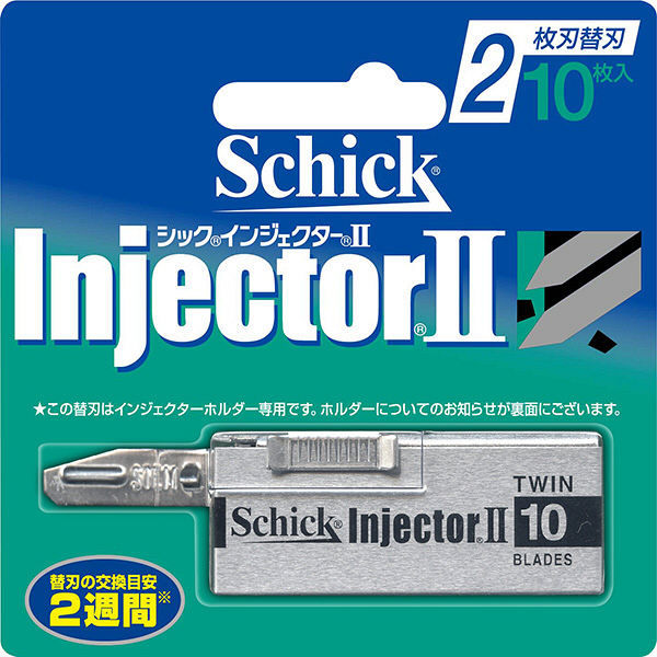シック インジェクター2 替刃 10枚入