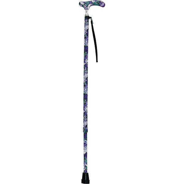 インターリンクス細首伸縮カラー杖 HK-PF12 パープルローズ (取寄品)