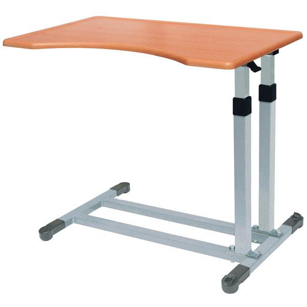 睦三ベッドサイドテーブル FL-II(ガス圧シリンダータイプ) (取寄品)