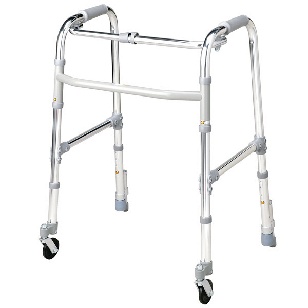 大人用歩行器 テツコーポレーション 固定型歩行器キャスター・ストッパー付 Bタイプ (取寄品)