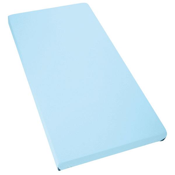 亀屋ブルー防水シーツ スムースボックスタイプ クリーム (取寄品)