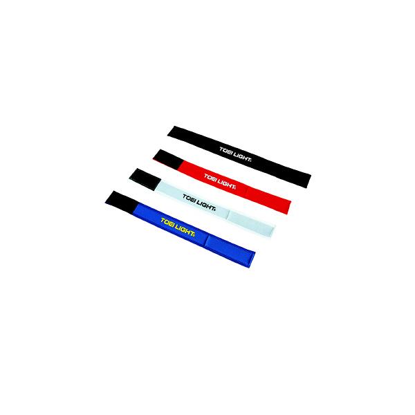 トーエイライト 二人三脚用ベルト 白 B7911W 1セット(2本×5組入) (取寄品)