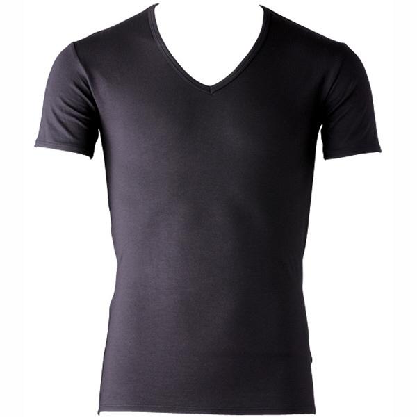 インナーシャツ ホットシャツ Vネック 半袖 メンズ LL フットマーク (取寄品)