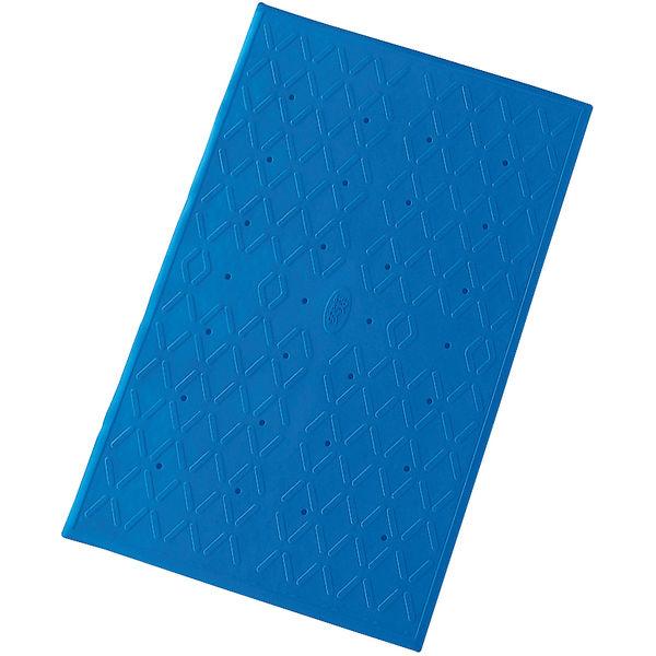 アロン化成 吸着滑り止めマットM ブルー 535457 1ケース(10枚入) (直送品)
