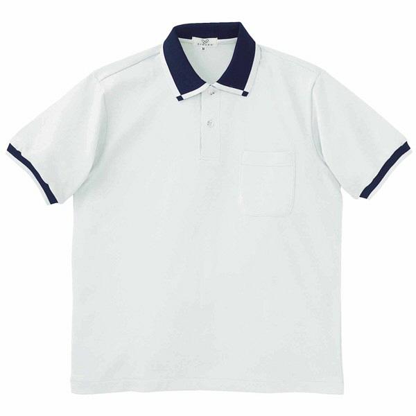 トンボ キラク 消臭ポロシャツ  シルバーグレー M CR023-03 1枚  (取寄品)