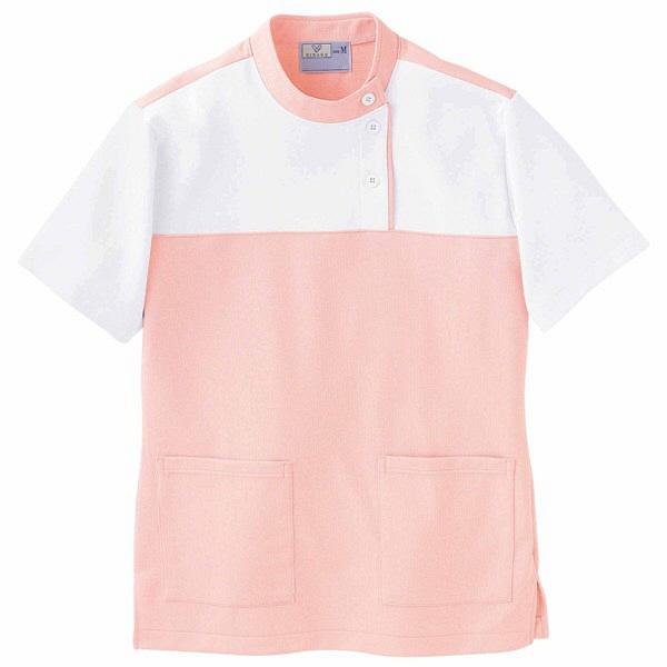 トンボ キラク ケアワーシャツ ピンク S CR085-12 1枚  (取寄品)