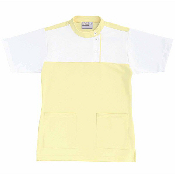 トンボ キラク ケアワーシャツ クリーム S CR085-33 1枚  (取寄品)