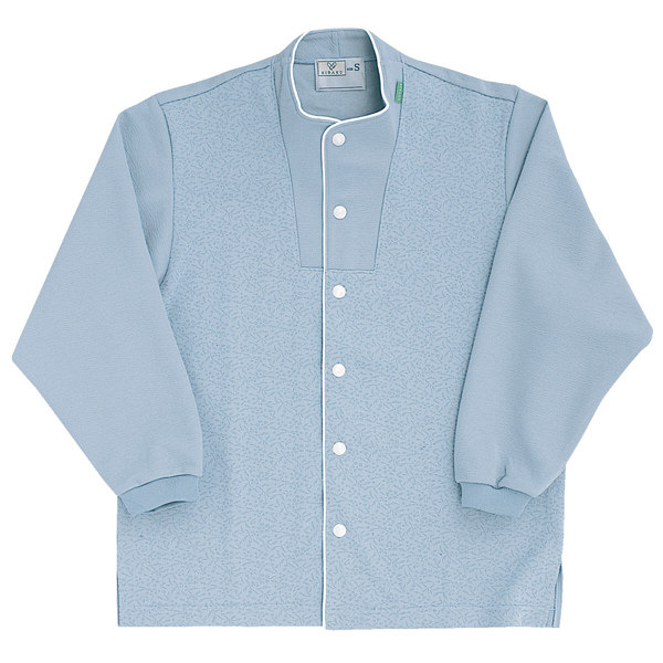 トンボ キラク 前開きニットシャツ インクブルー S  S CR813-76 1枚  (取寄品)