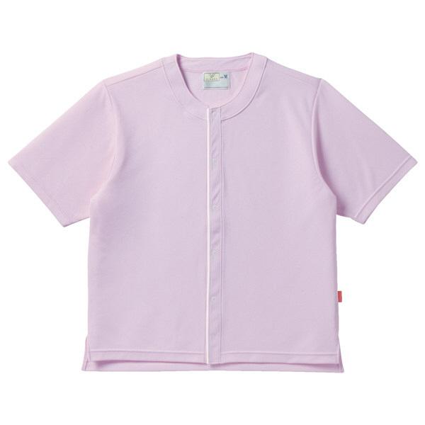 トンボ キラク 夏用ニトシャツ ライラック L  L CR837-81 1枚  (取寄品)