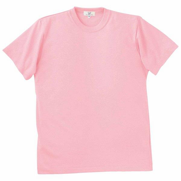 トンボ キラク Tシャツ ピーチピンク  LL CR003-11 1枚  (取寄品)
