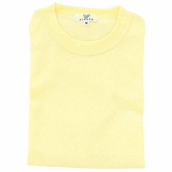 トンボ キラク Tシャツ クリーム  3L CR003-32 1枚  (取寄品)