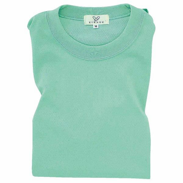 トンボ キラク Tシャツ ミント  3L CR003-40 1枚  (取寄品)