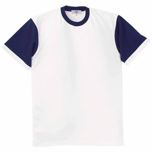 トンボ キラク Tシャツ ホワイト  LL CR021-01 1枚  (取寄品)