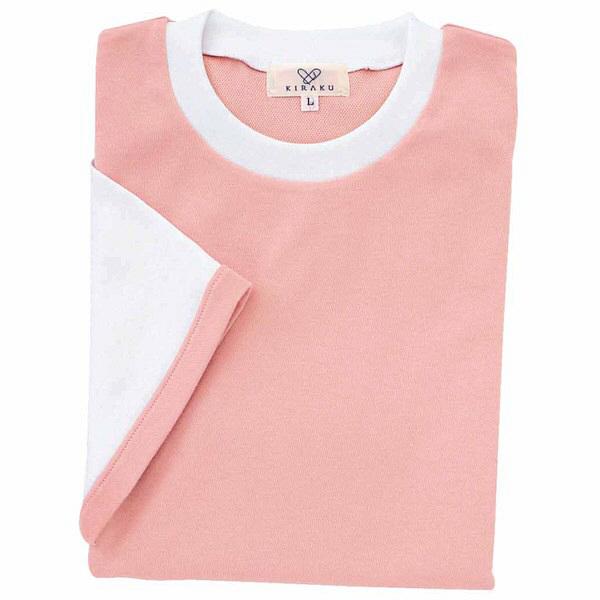 トンボ キラク Tシャツ オーキッドピンク  LL CR021-13 1枚  (取寄品)