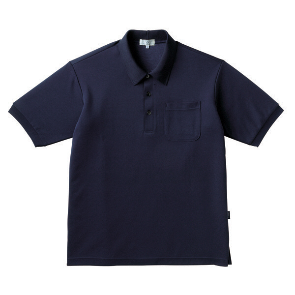 トンボ キラク ポロシャツ  ネイビー 3L CR164-89 1枚  (取寄品)