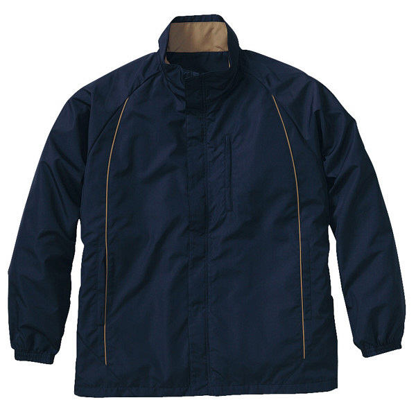 トンボ キラク 防寒ブルゾン ネイビー LL CR601-88 1枚  (取寄品)