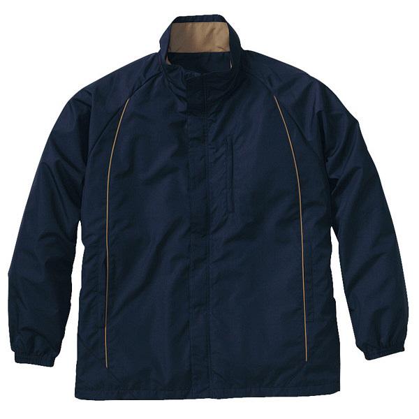 トンボ キラク 防寒ブルゾン ネイビー 3L CR601-88 1枚  (取寄品)