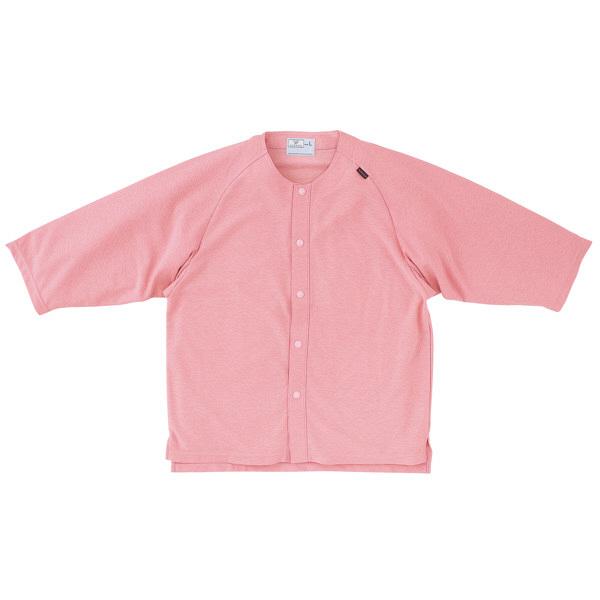 トンボ キラク カラーレスシャツ ピンク L  L CR807-14 1枚  (取寄品)
