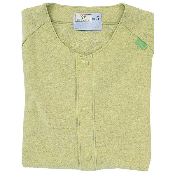 トンボ キラク カラーレスシャツ マスタード L  L CR807-35 1枚  (取寄品)