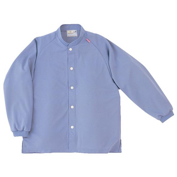 トンボ キラク 前開きニットシャツ ラベンダー LL CR818-83 1枚  (取寄品)