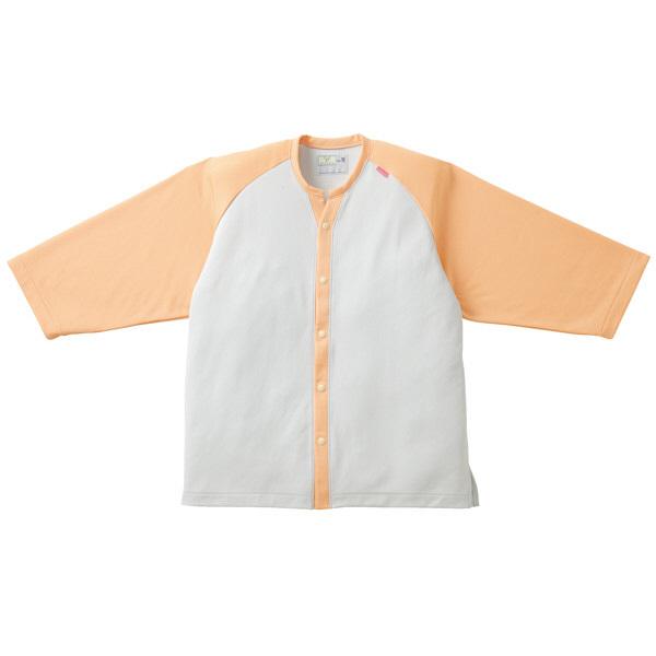 トンボ キラク ニットシャツ  オレンジ    L CR821-12 1枚  (取寄品)