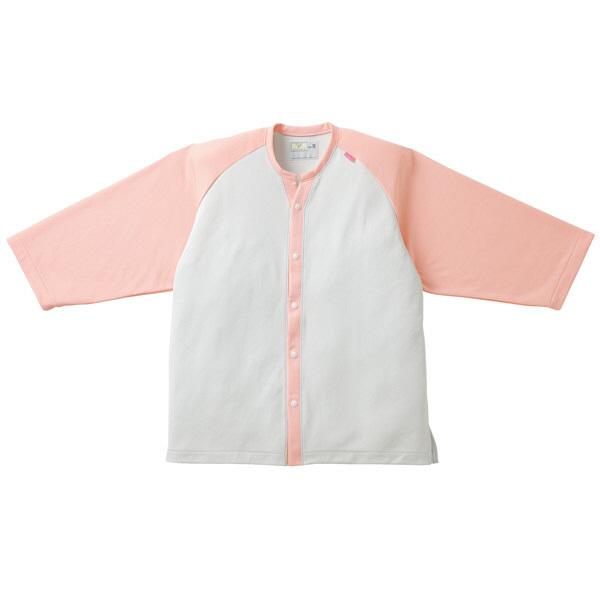 トンボ キラク ニットシャツ  ピンク   M CR821-13 1枚  (取寄品)