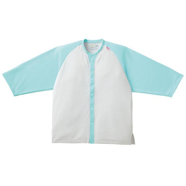 トンボ キラク ニットシャツ   ミント   M CR821-40 1枚  (取寄品)