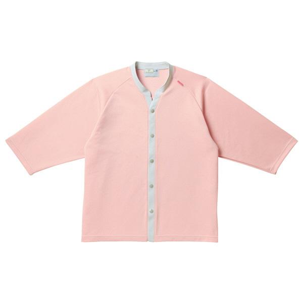 トンボ キラク ニットシャツ  ピンク   M CR835-13 1枚  (取寄品)
