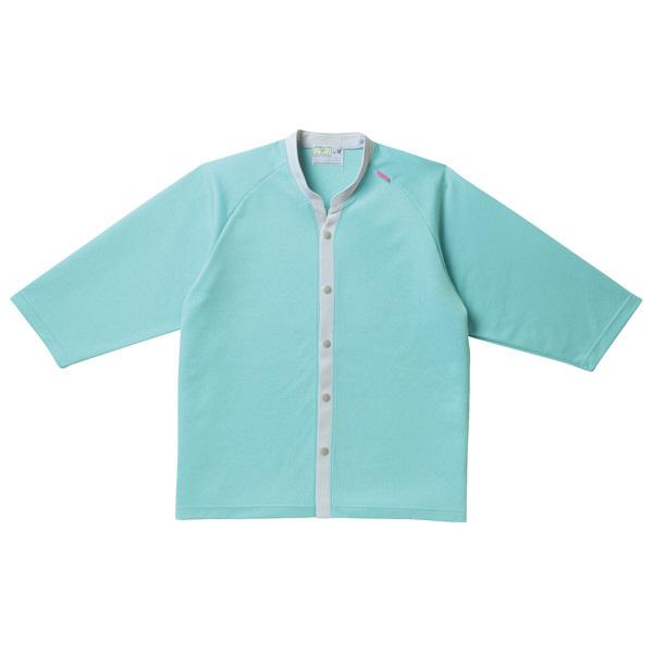 トンボ キラク ニットシャツ   ミント   L CR835-40 1枚  (取寄品)