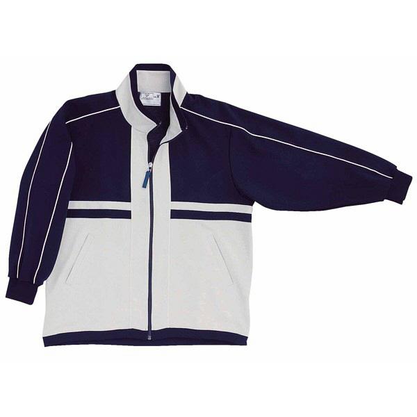 トンボ キラク ハーフジャケット 紺×グレー杢  L CR050-88 1枚  (取寄品)
