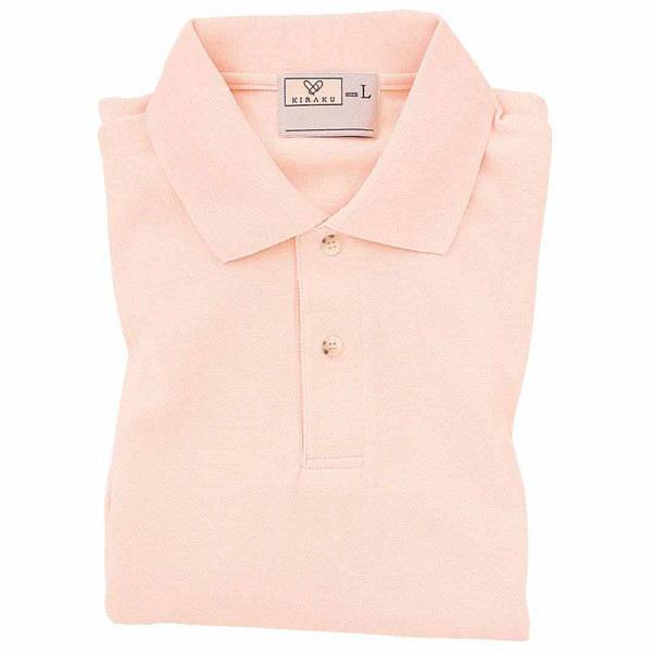 トンボ キラク ポロシャツ  オレンジピンク  3L CR053-12 1枚  (取寄品)