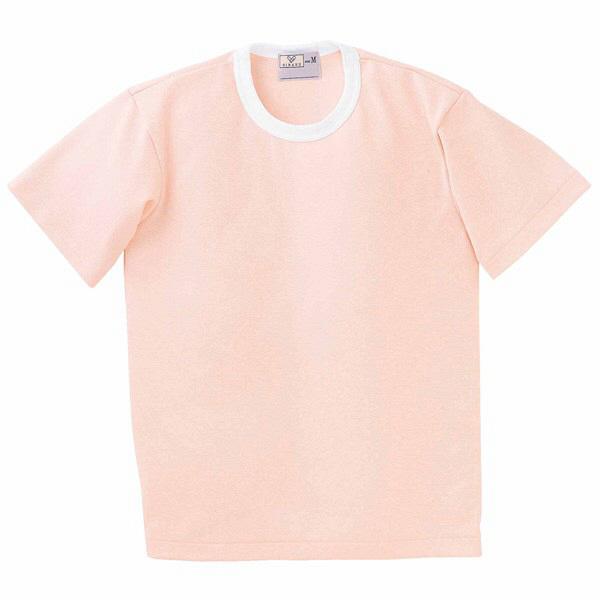 トンボ キラク Tシャツ オレンジピンク  L CR055-12 1枚  (取寄品)