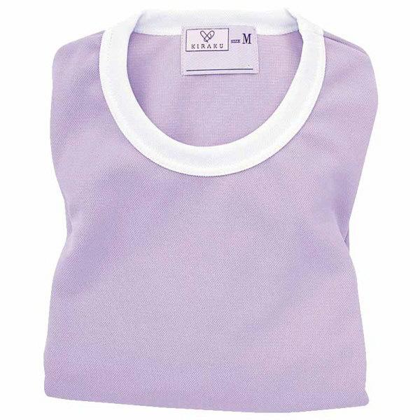 トンボ キラク Tシャツ ラベンダー  M CR055-80 1枚  (取寄品)