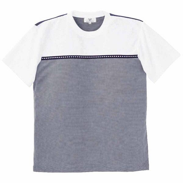 トンボ キラク Tシャツ ネイビー  M CR066-88 1枚  (取寄品)
