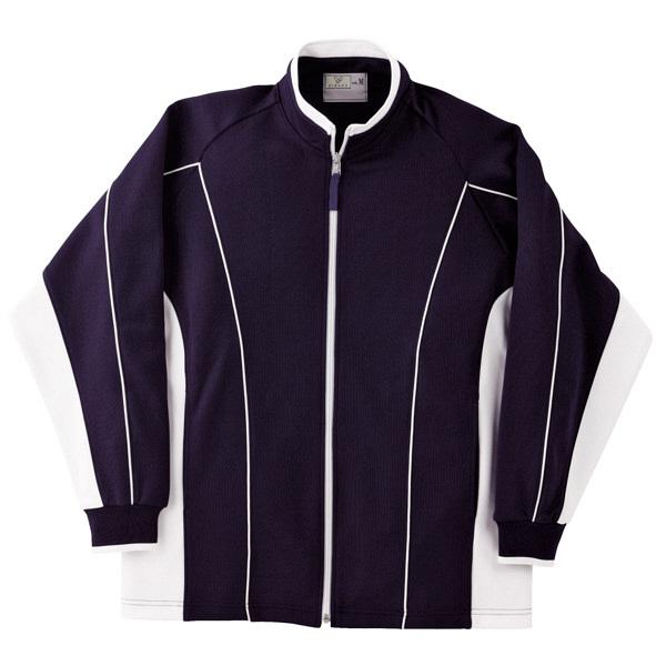 トンボ キラク  ハーフジャケット 紺×白 3L CR068-90 1枚  (取寄品)