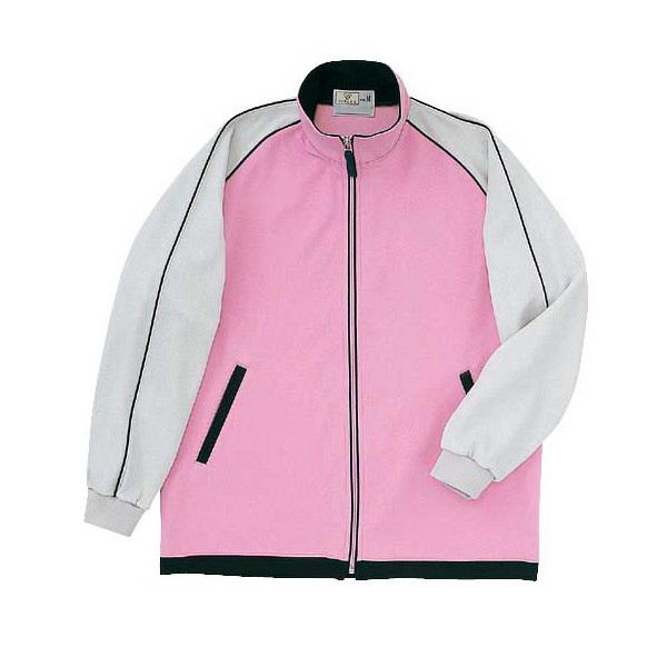 トンボ キラク ケアワークシャツ  ピンク M CR082-12 1枚  (取寄品)