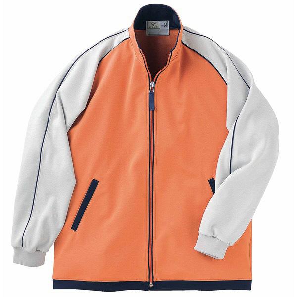 トンボ キラク ケアワークシャツ  オレンジ L CR082-59 1枚  (取寄品)
