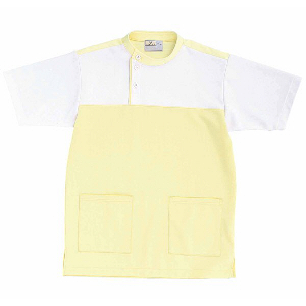 トンボ キラク ケアワーシャツ クリーム M CR084-33 1枚  (取寄品)