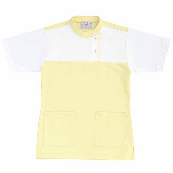 トンボ キラク ケアワーシャツ クリーム L CR085-33 1枚  (取寄品)