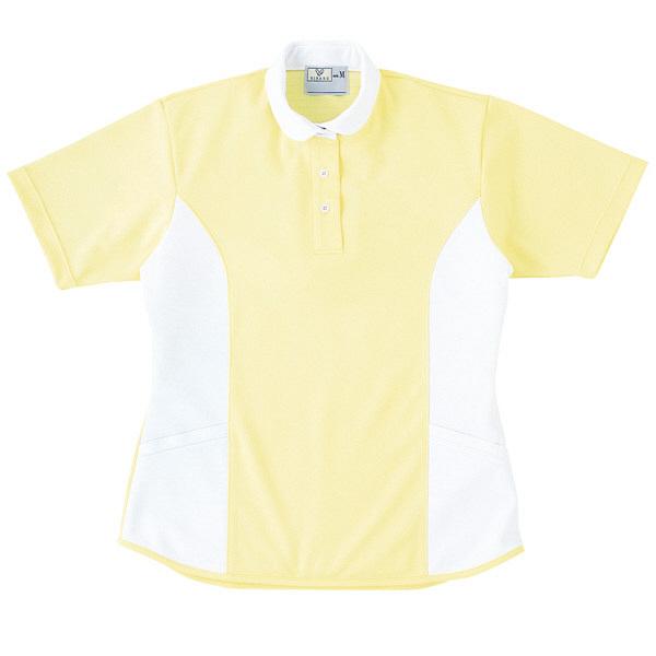 トンボ キラク ケアワーシャツ クリーム L CR086-33 1枚  (取寄品)