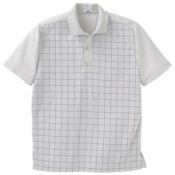 トンボ キラク ニットシャツ  シルバーグレー LL CR087-03 1枚  (取寄品)