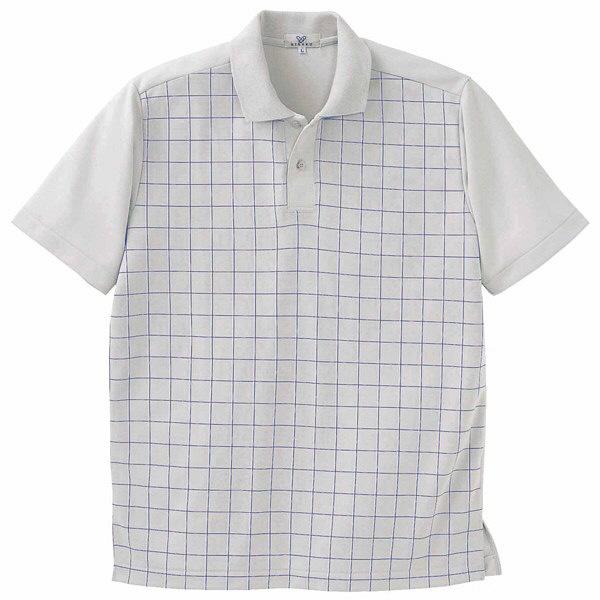 トンボ キラク ニットシャツ  シルバーグレー 3L CR087-03 1枚  (取寄品)