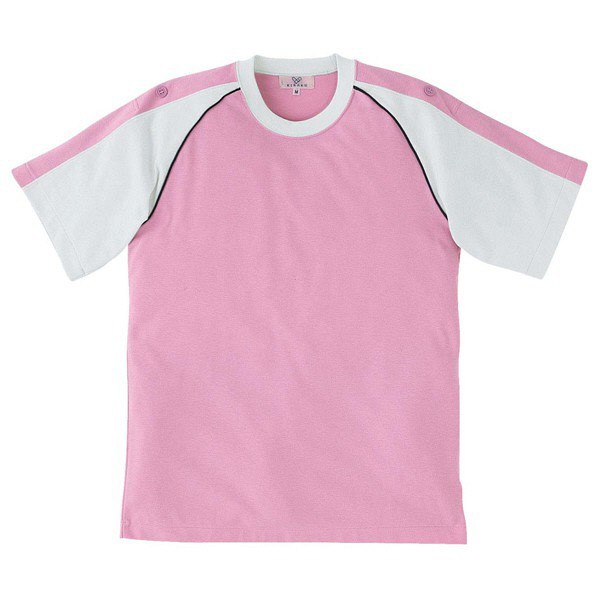 トンボ キラク Tシャツ ピンク L CR095-12 1枚  (取寄品)
