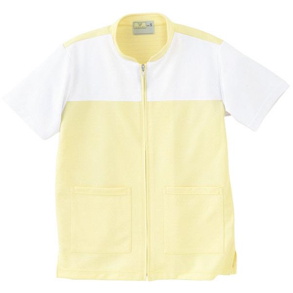 トンボ キラク ケアワーシャツ クリーム S CR100-33 1枚  (取寄品)