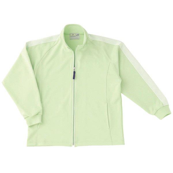 トンボ キラク ケアワークシャツ ライム L CR105-37 1枚  (取寄品)